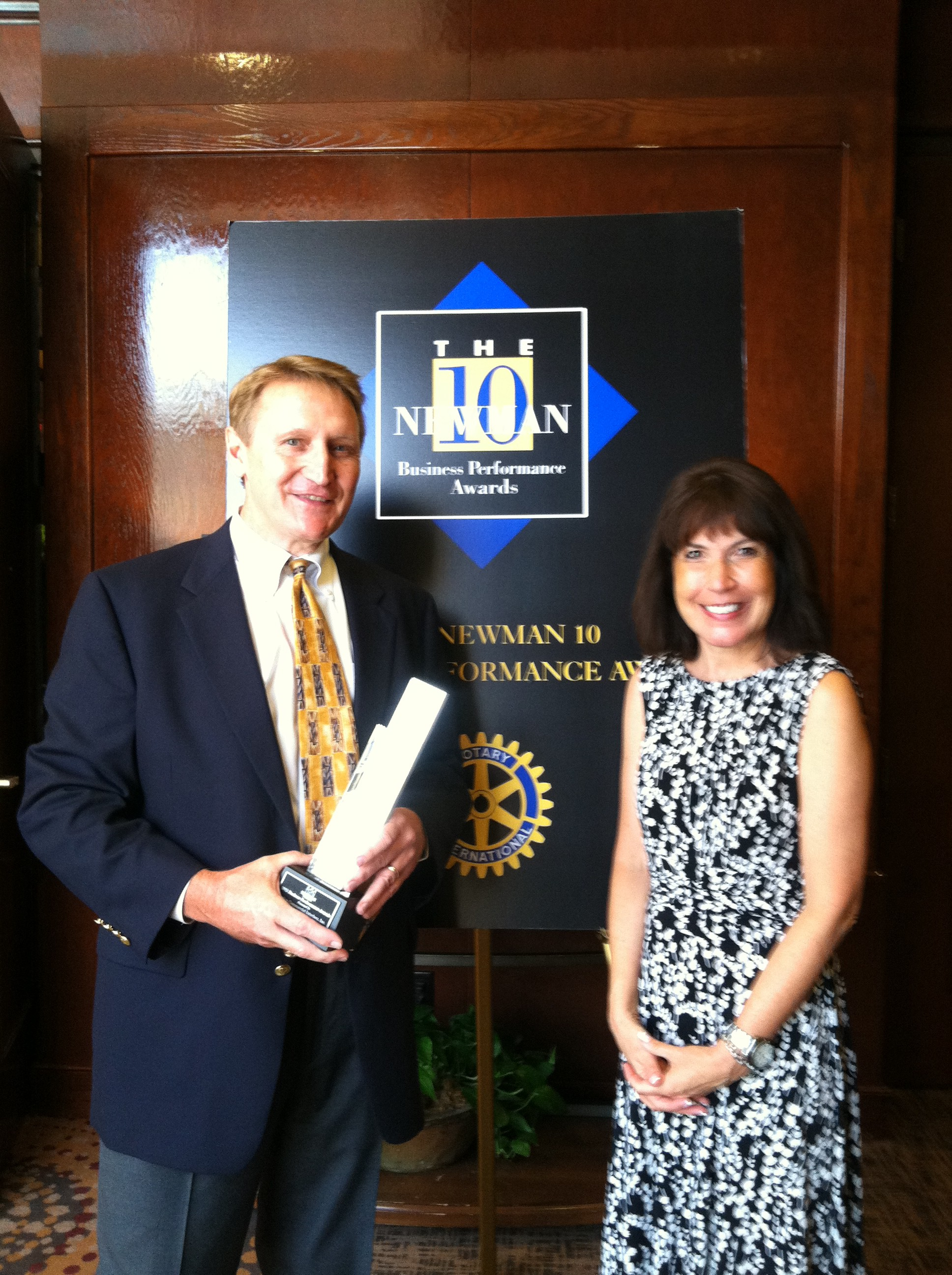 Newman Award Pic