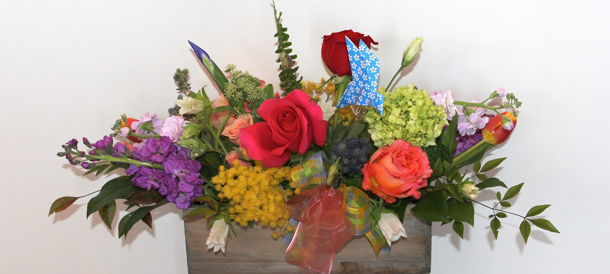 We create arrangements in all shapes and sizes just for you