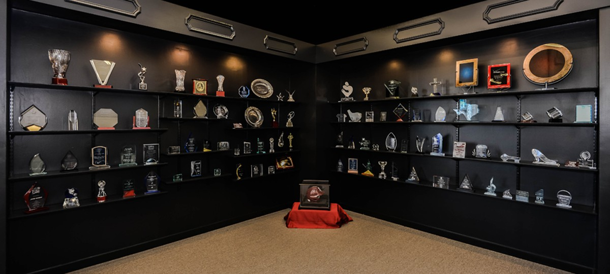 Awards and More Home