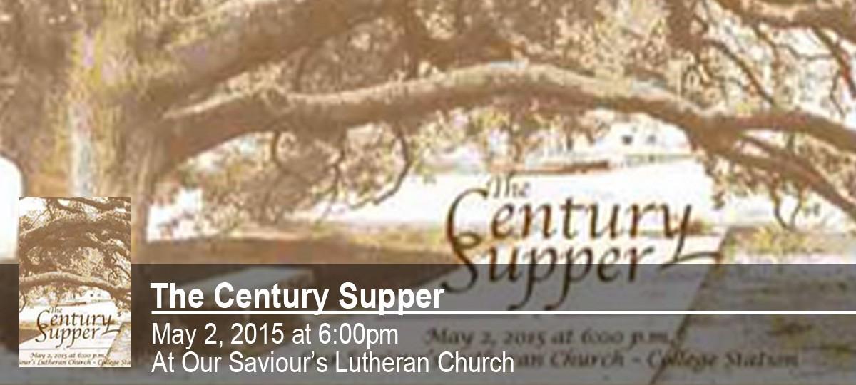 Century Supper