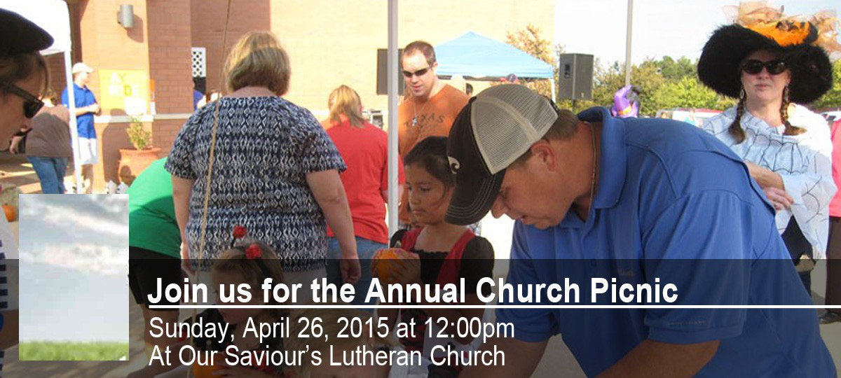 Join us for the annual Church Picnic