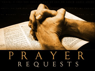 request for prayer