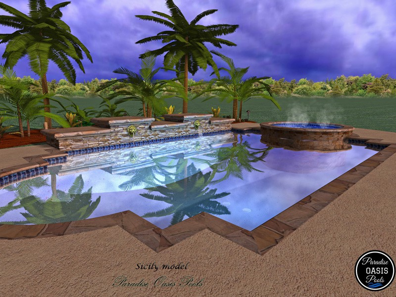 Paradise Oasis Pools Our Construction Process