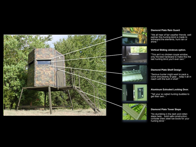 Hunting Blinds Built to Last and Designed to Your Needs Boss