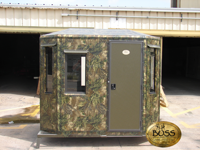 Custom Hunting Blinds Designed For Success Boss Game Systems